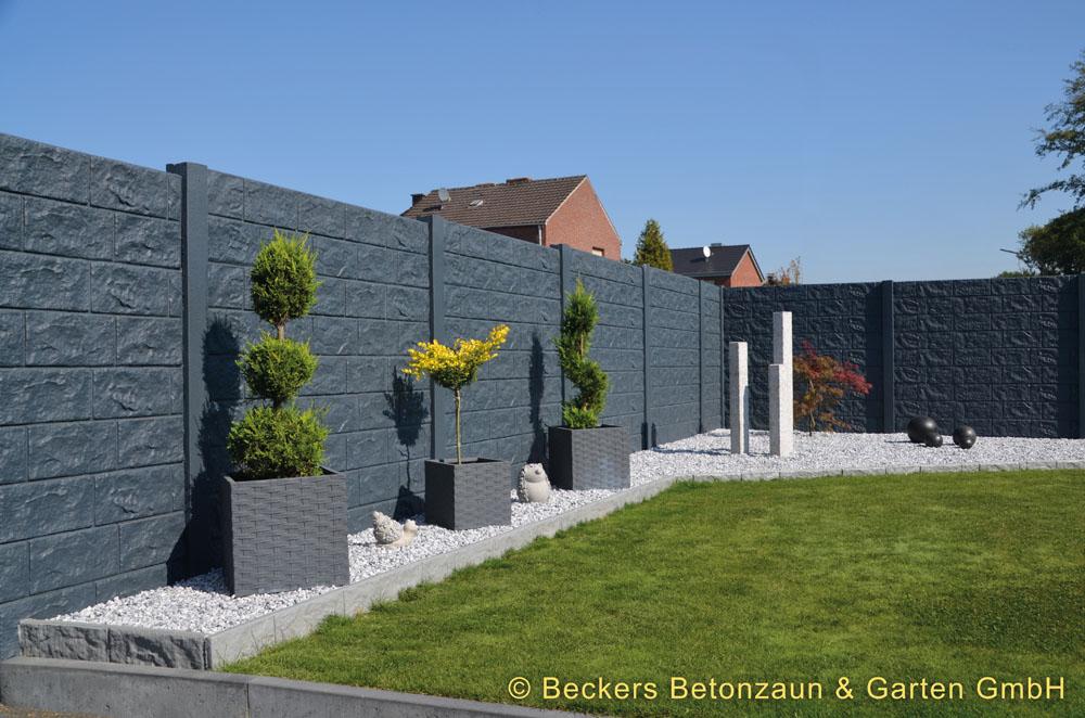 Betonzäune bildgalerie betonzäune warmuth galabau